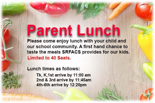 Parent Lunch